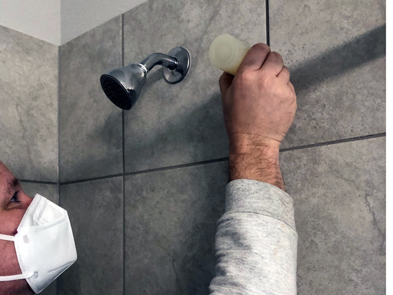 Sealing Grout in Shower