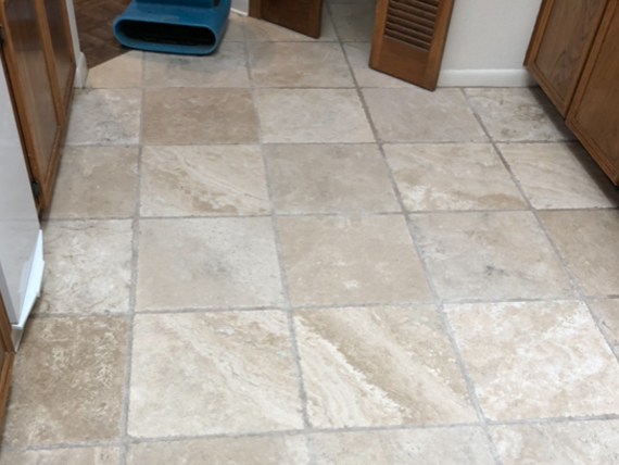 Travertine After Cleaning